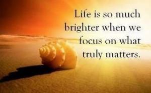 Brighter focus